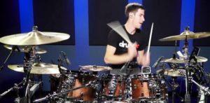 COOP3RDRUMM3R Metallica Enter Sandman Drum Cover