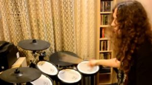 CrossOver Covers Bon Jovi You Give Love a Bad Name Drum Cover