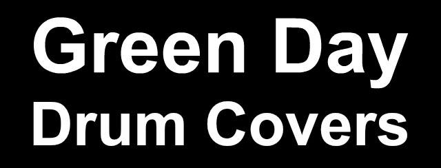 Green Day drum covers