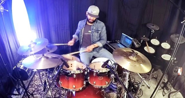 Aaron Prather Rihanna Work ft Drake Drum Cover